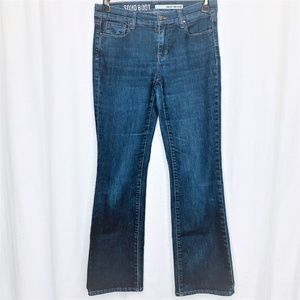 DKNY Soho Boot Denim Jeans Size 4